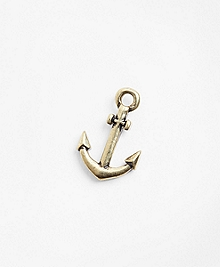 Gold Anchor Lapel Pin