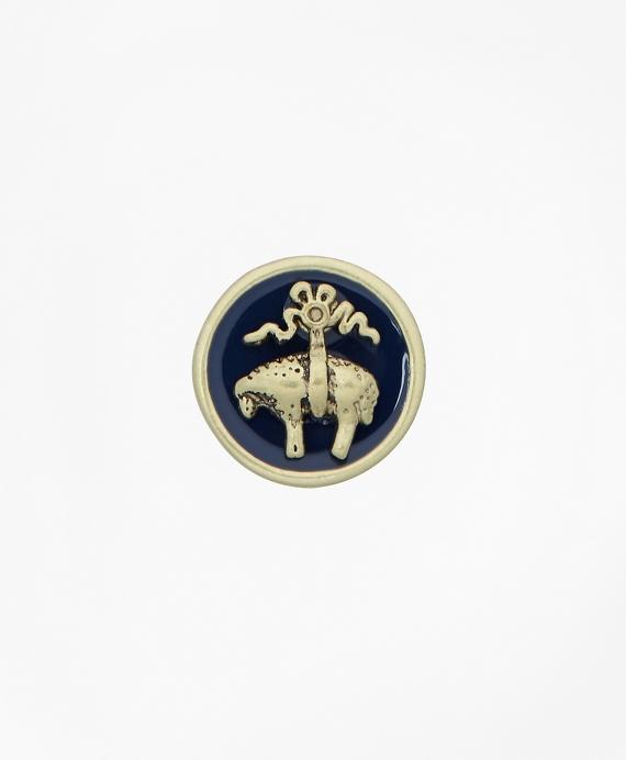 Enamel Lapel Pin Gold