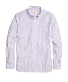 Framed Stripe Sport Shirt