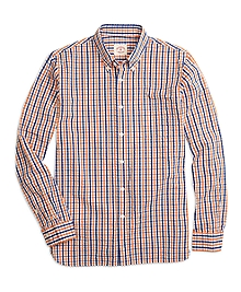 Seersucker Check Sport Shirt