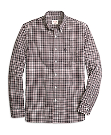 Black and Red Check Sport Shirt