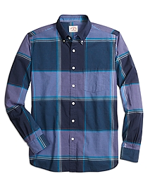 Purple Madras Sport Shirt