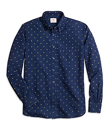 Paisley Denim Sport Shirt