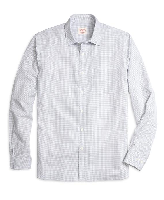 Windowpane Sport Shirt