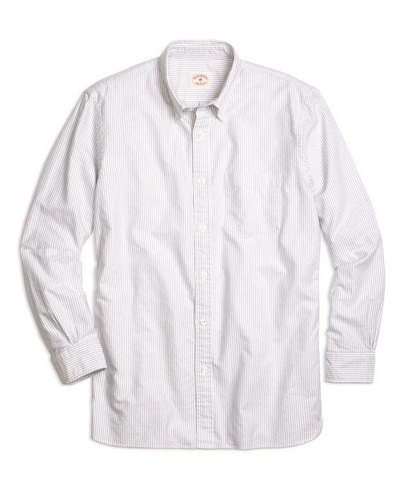 Candy Stripe Sport Shirt Grey