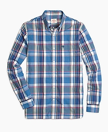 Large Multi Plaid Sport Shirts