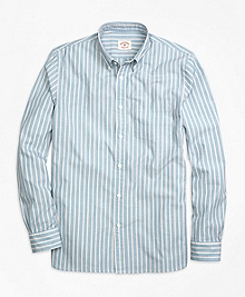 Wide Stripe Sport Shirt