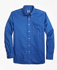 Garment-Dyed Sport Shirt