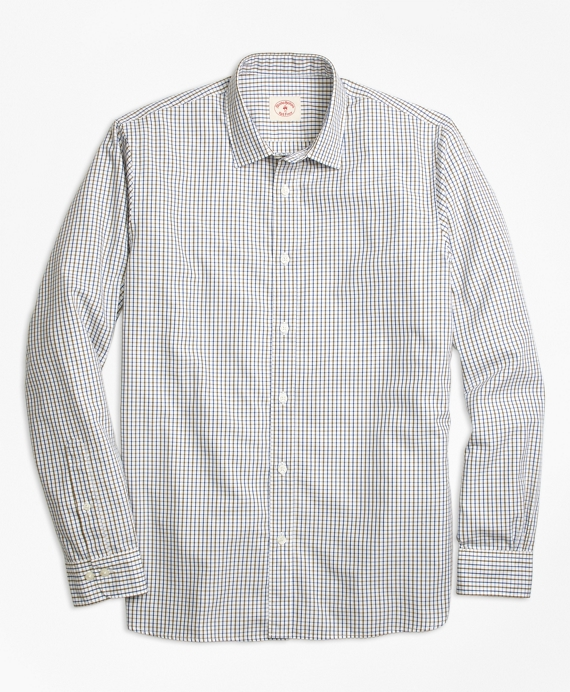 Nine to Nine Grid Check Shirt