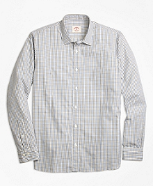 Nine to Nine Grid Check Sport Shirt