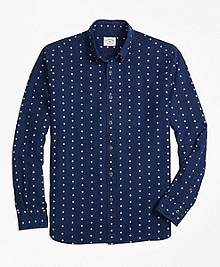 Foulard Print Sport Shirt