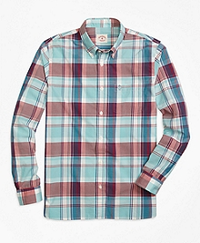 Large Plaid Sport Shirt