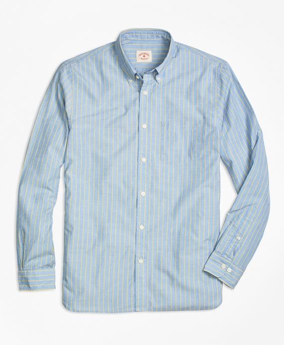 Blue Stripe Sport Shirt
