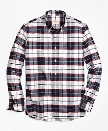 Supima® Cotton Plaid Sport Shirt