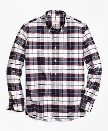 Supima® Cotton Plaid Sport Shirt