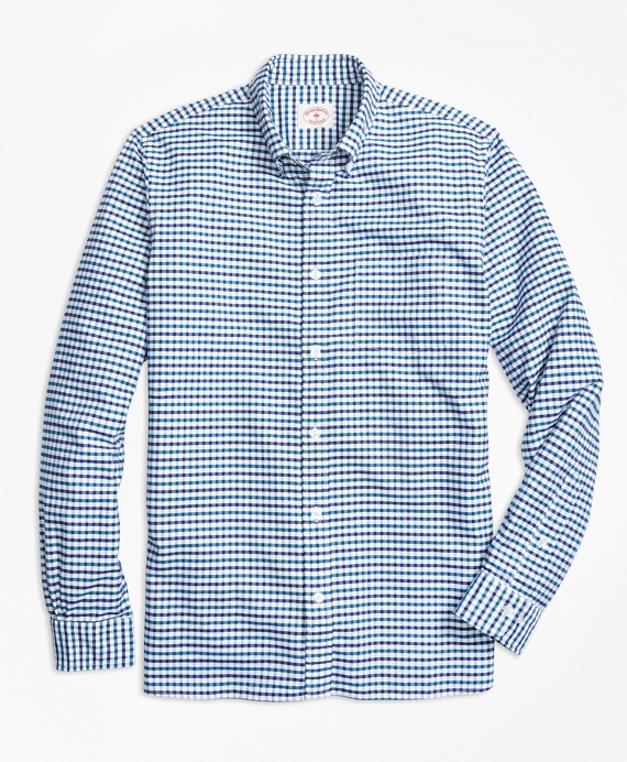 Supima® Cotton Gingham Sport Shirt