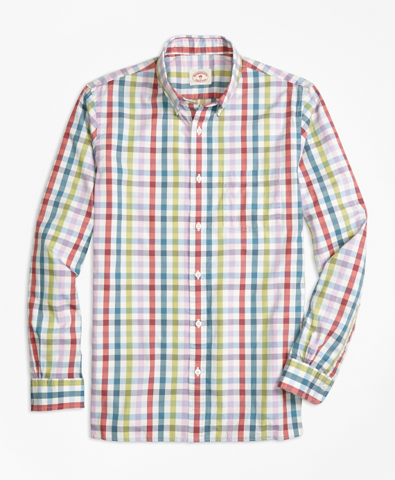 Multi Gingham Sport Shirt Multi