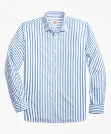 Nine to Nine Wide Stripe Sport Shirt