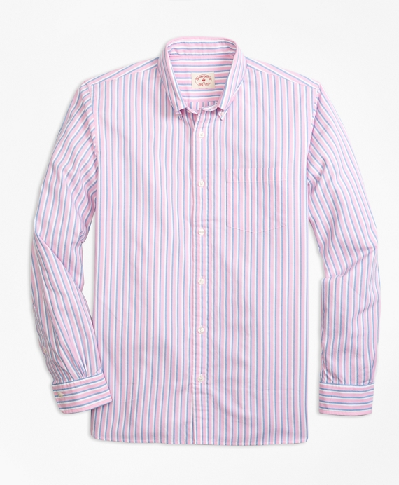 Supima® Cotton Textured Dobby Stripe