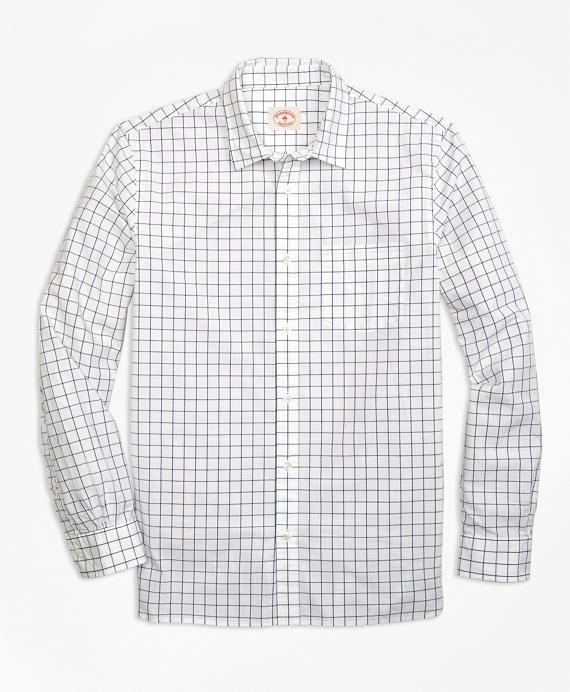Nine to Nine Windowpane Shirt