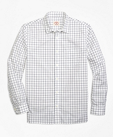 Nine to Nine Windowpane Sport Shirt