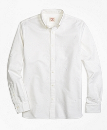 Racquet-Embroidered Sport Shirt