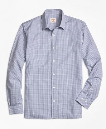 Nine-to-Nine Mini Checkered Shirt