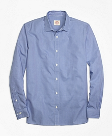 Nine-to-Nine Checkered Sport Shirt