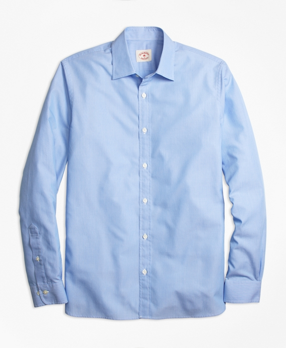 Nine to Nine Stripe Shirt Blue