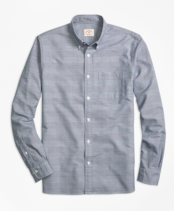 Glen Plaid Sport Shirt