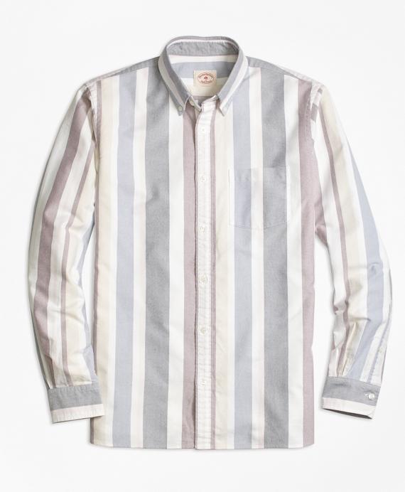 Stripe Oxford Sport Shirt