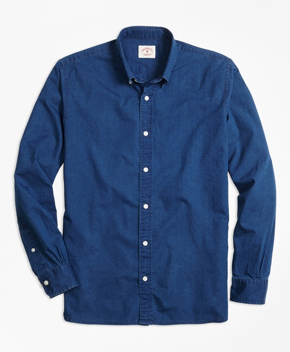 Dark Chambray Sport Shirt