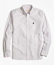 Multi-Stripe Oxford Sport Shirt