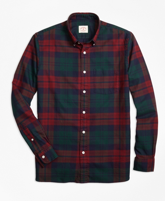 Tartan Oxford Sport Shirt