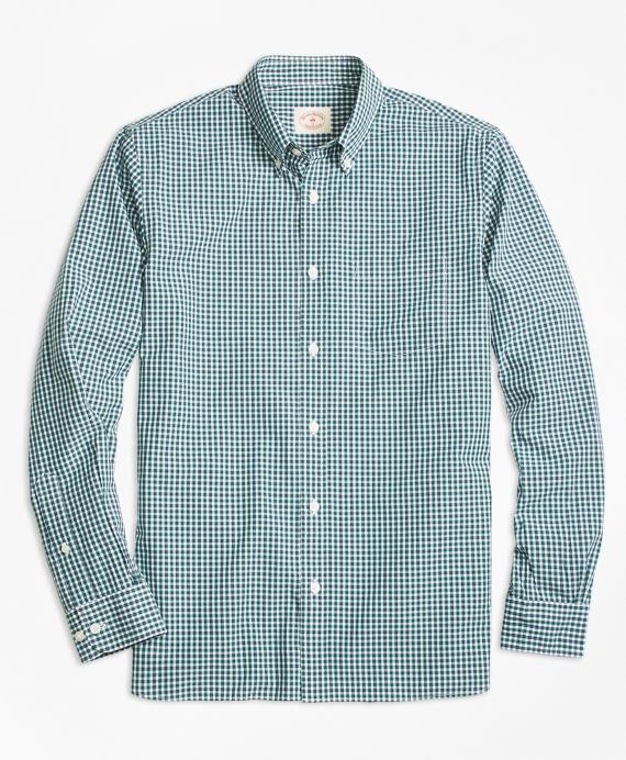 Micro-Check Broadcloth Sport Shirt