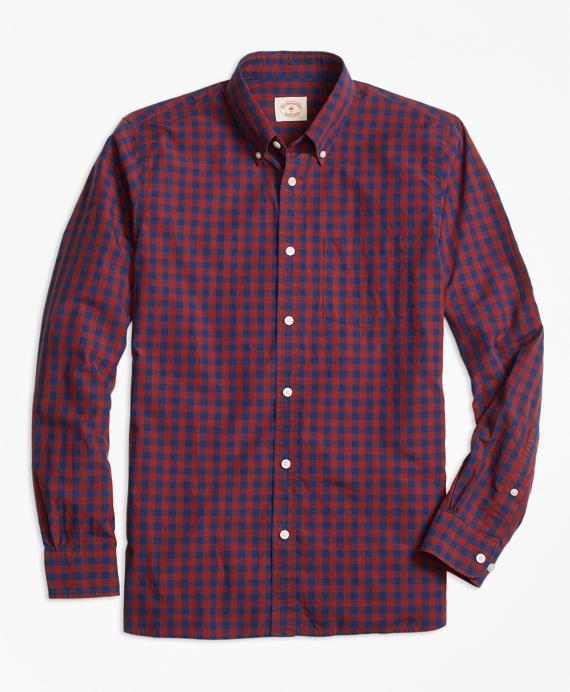 Buffalo Check Broadcloth Sport Shirt