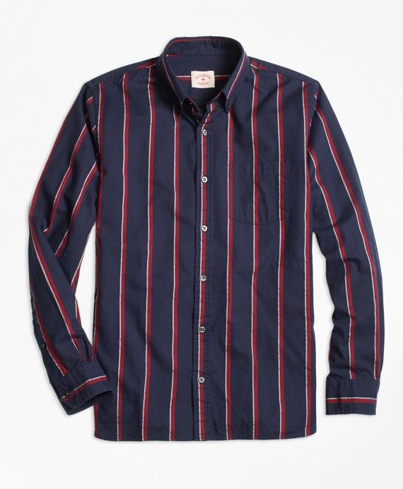 Regal Stripe Flannel Sport Shirt