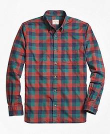 Buffalo Check Flannel Sport Shirt