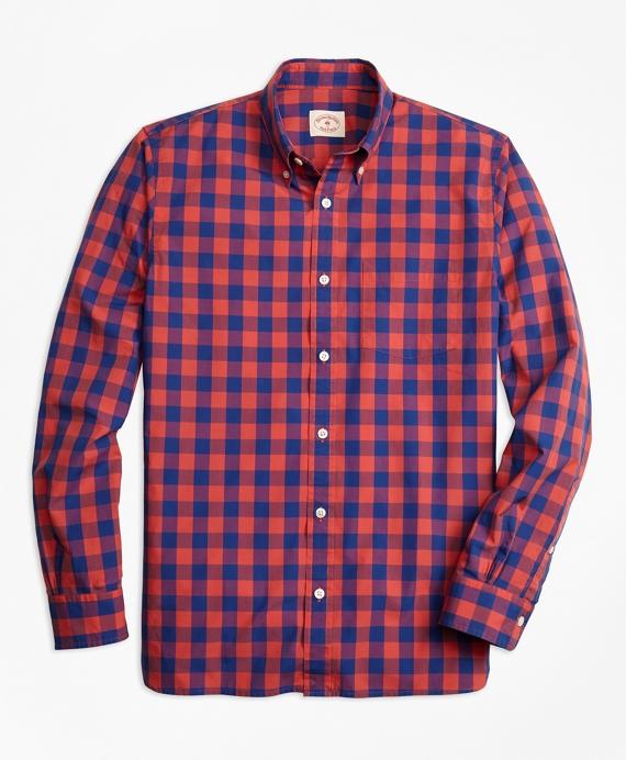 Check Broadcloth Sport Shirt