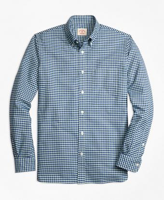 Checkered Oxford Sport Shirt