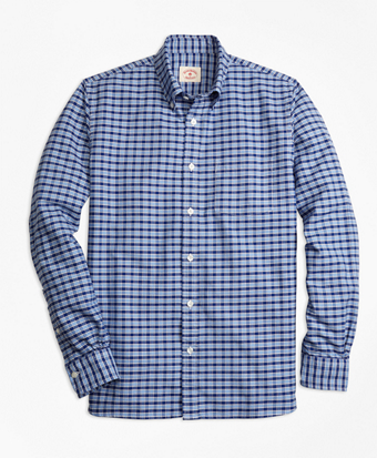 Checkered Oxford Sport Shirt