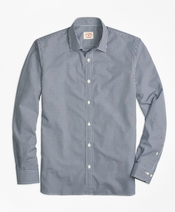 Nine to Nine Dobby Gingham Shirt