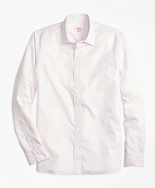 Nine-to-Nine Cotton Poplin Check Shirt
