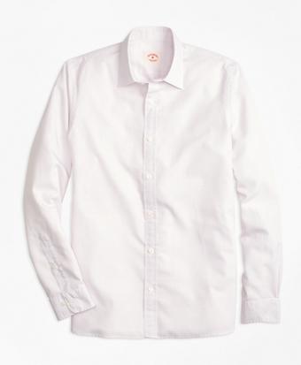 Nine-to-Nine Cotton Poplin Check Shirt
