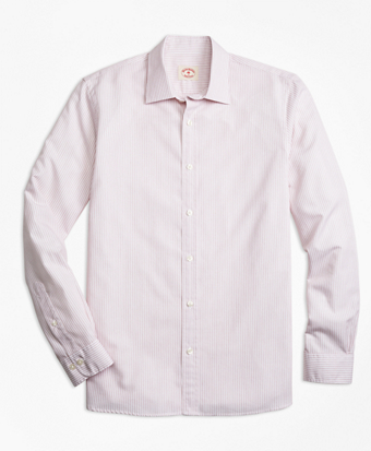 Nine-to-Nine Cotton Poplin Stripe Shirt