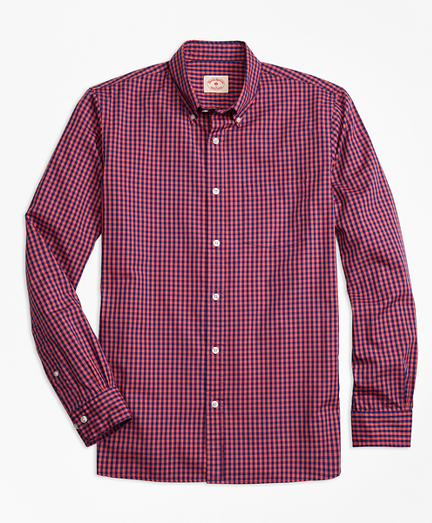 Gingham Batiste Oxford Sport Shirt