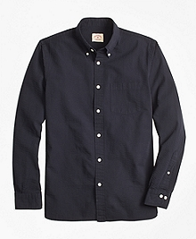 Cotton Seersucker Sport Shirt