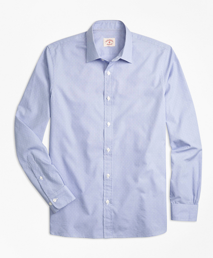 Nine-to-Nine Dobby-Stripe Shirt