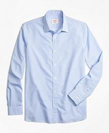 Nine-to-Nine Micro-Gingham Shirt