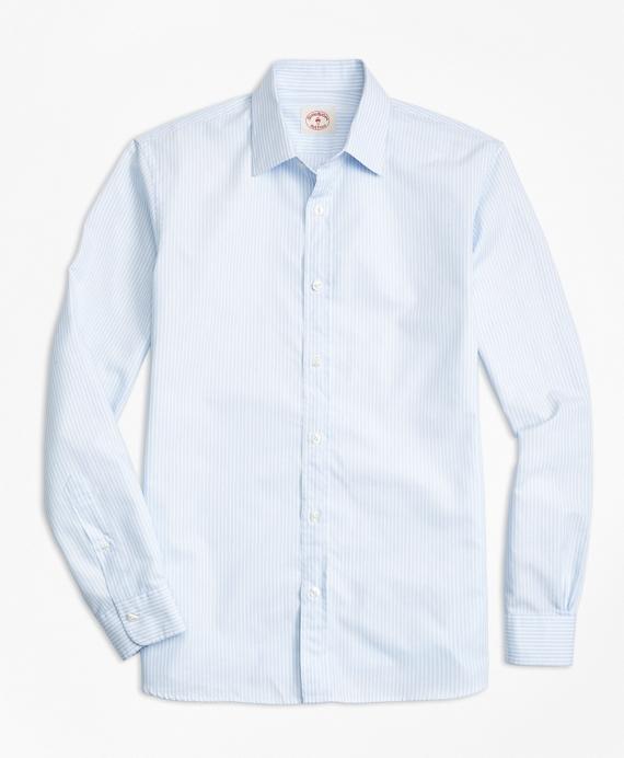 Stripe Cotton Poplin Nine-to-Nine Shirt
